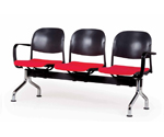 Plastic Row ChairLPC-001-AA
