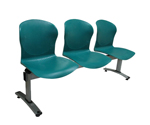 Plastic Row ChairLPC-004D