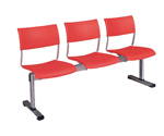 Plastic Row ChairLPC-011A