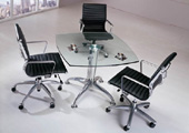 Glass Meeting DeskMEGA-MG01