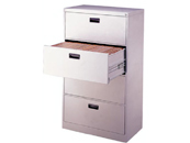 Cross-file cabinet (4-drawers)HS-103-B