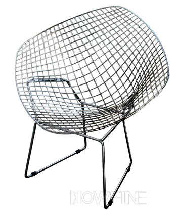 Diamond Steel Wire Chair[Diamand 1] Metal Lounge Chair Lounge Chairs HOWFINE  OFFICE FURNITURE HIGH QUALITY OFFICE FURNITURE MANUFACTURE