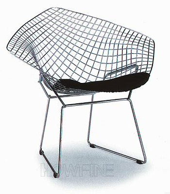 Good Diamond Steel Wire Chair[Diamand 2] Metal Lounge Chair Lounge Chairs HOWFINE  OFFICE FURNITURE HIGH QUALITY OFFICE FURNITURE MANUFACTURE