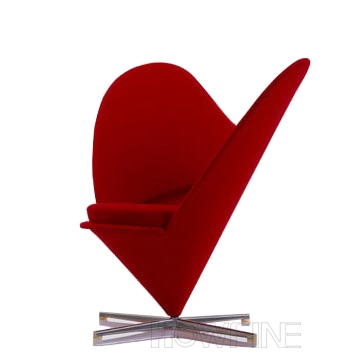 心形锥形椅 [Heart Cone Chair]